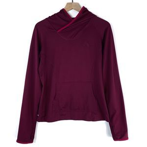 The North Face Vapor Wick Bordeaux Pullover Hoodie